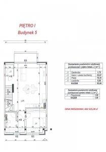 Budynek 5 lokal J plan piętro