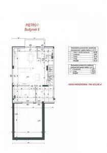 Budynek 6 lokal L plan piętro